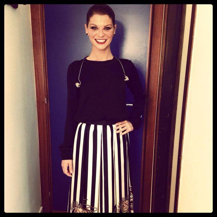 Vi è piaciuta l'esibizione a #domenicain di Alessandra con #amorepuro ? (staff)