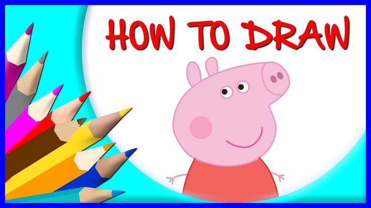 How to Draw Peppa Pig | Drawing Time Lapse | 853672 HTD