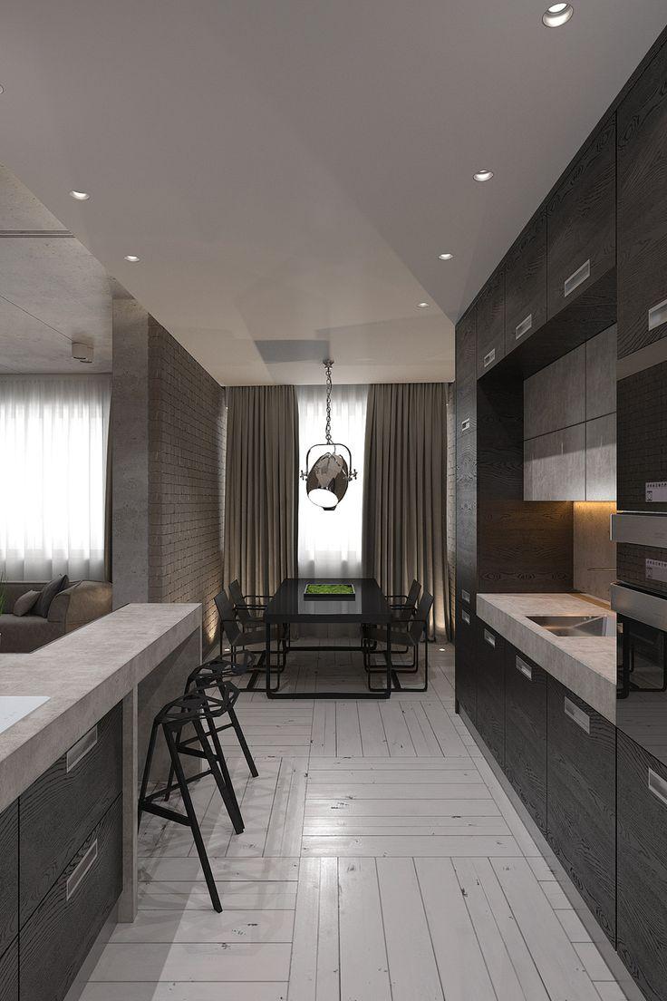 FLY - ALNO. Современные кухни: дизайн и эргономика | PINWIN - конкурсы для архитекторов, дизайнеров, декораторов