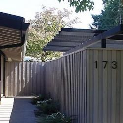 Fence Design Ideas And Picture Gallery For Eichler Homes And Other  Mid Century Modern House.