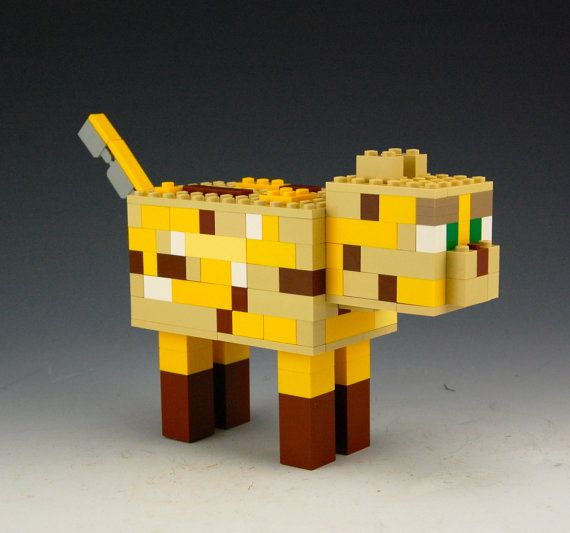 Lego Minecraft Ocelot