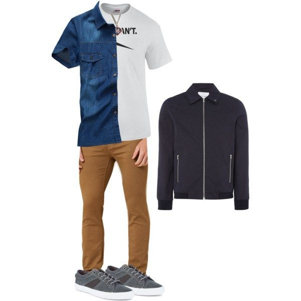 An outfit inspired by Corey Matthews (Ben Savage) from 'Boy Meets World'. Items by Ezekiel, Ben Sherman James, and more!