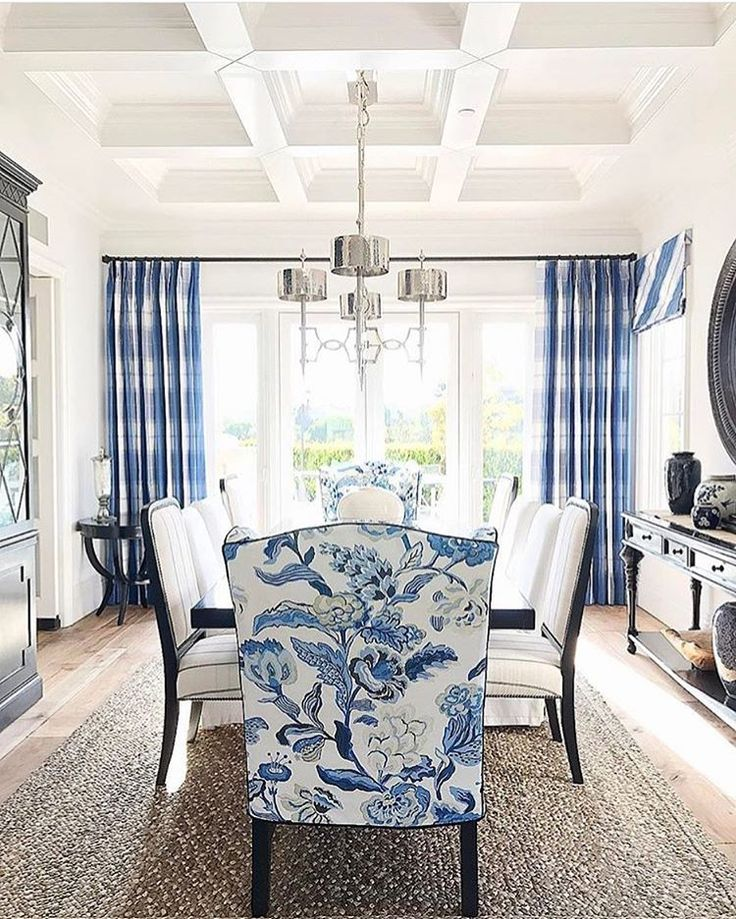 Sneak Peek At One Of Our Newest Projects, A Traditional Remodel. So Excited  To Find A Client Who Loves Blue And White As Much As We Do!