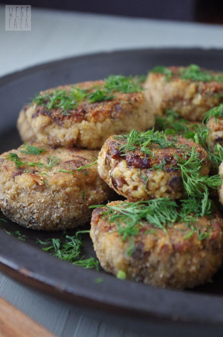wegefaza: Kotlety pieczarkowo-jaglane