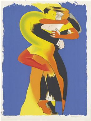 ALLEN JONES (B. 1937)  Paso Doble