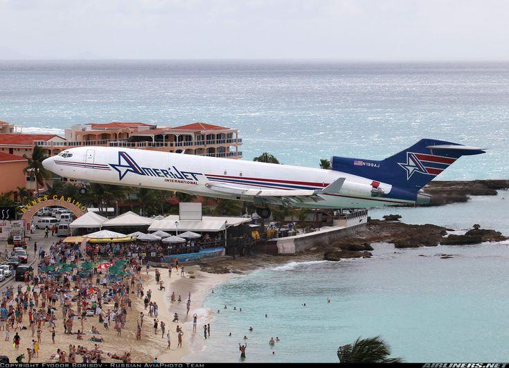 Boeing 727 2f9 Adv F Aircraft Picture Maho Beach