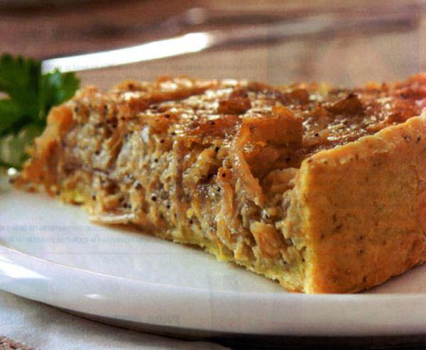 Receta Tarta de cebolla, queso y calabaza de Daiana Alarcon