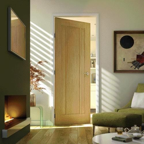 York Oak Veneer Door 1981x610mm Internal Oak Veneer