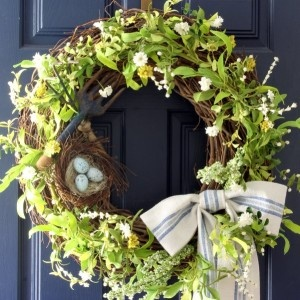 Spring Wreath - How To