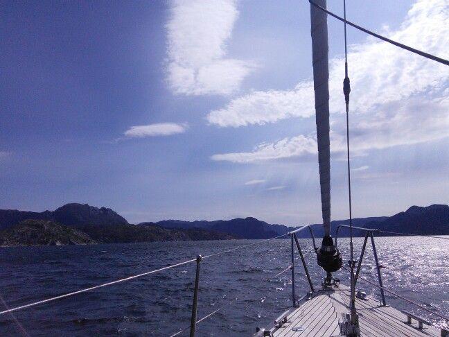 W drodze do Lysefjordu