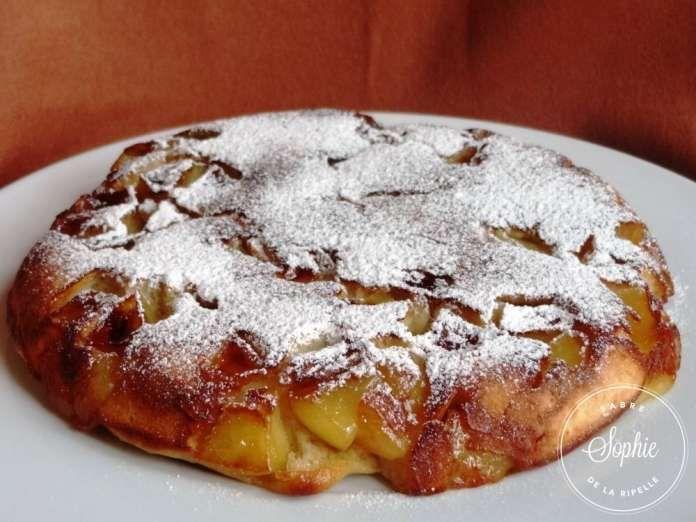 gateau-aux-pommes-a-la-poele
