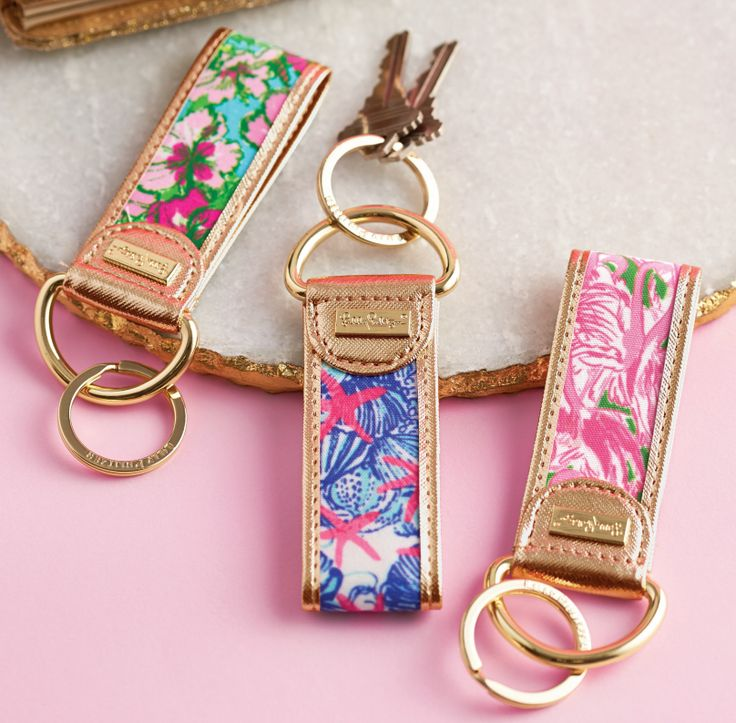 """aculturedpearl: """" Lilly key fobs coming our way this spring! """""""