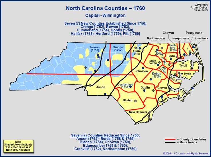 Best Genealogy Maps NCSCGA Images On Pinterest Genealogy - County map north carolina