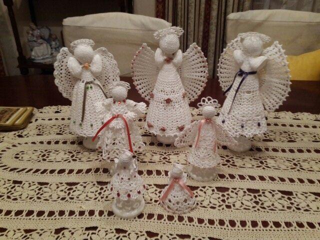 My angels crochet