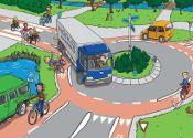 Verkeerslessen voor het digibord