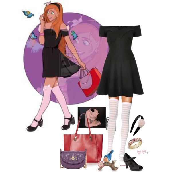 Disney University Giselle by Hyung86. A fashion look from November 2015 by alara-cary on Polyvore featuring River Island dresses, Marc Jacobs shoulder bags and Topshop tote bags. Browse and shop related looks.