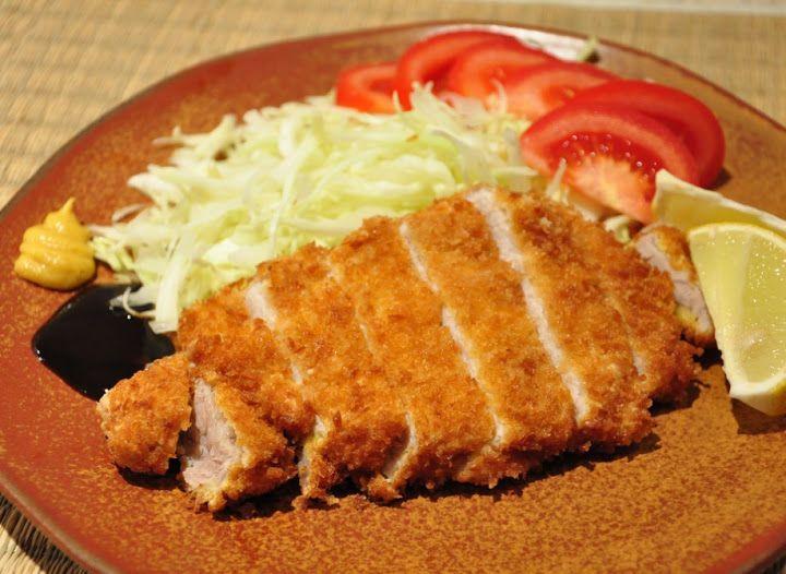 Tonkatsu - Тонкацу - японский шницель
