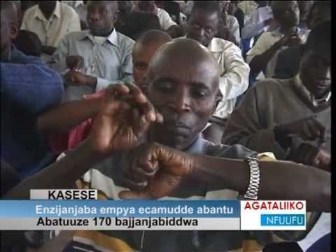 TFT on TV in Ugandas largest TV channel, Bukedde TV, june 2012.