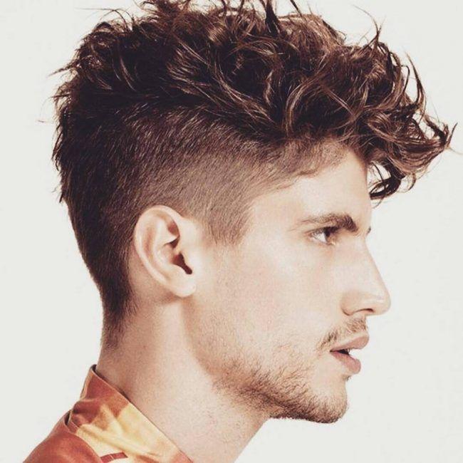 Favoloso Oltre 25 fantastiche idee su Tagli capelli ricci uomo su Pinterest  PL79