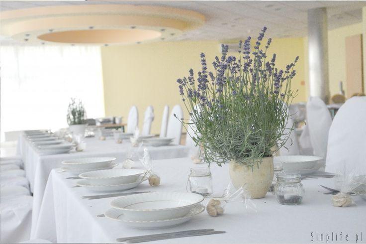 Lawendowe wesele. Wystrój DIY. - simplife.pl