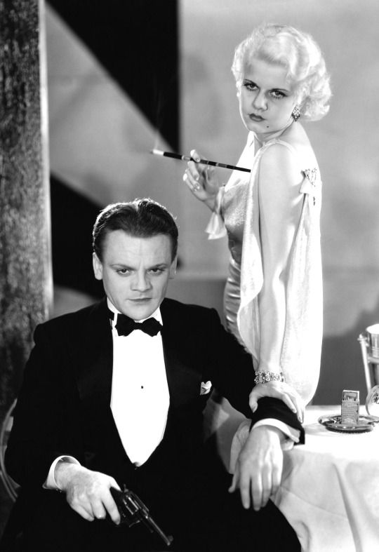 James Cagney and Jean Harlow in The Public Enemy (1931)