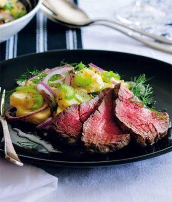NAŠE KUCHYNĚ: Kančí steaky a šípková omáčka příprava