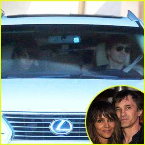 Halle Berry & Olivier Martinez Step Out Together After Divorce News