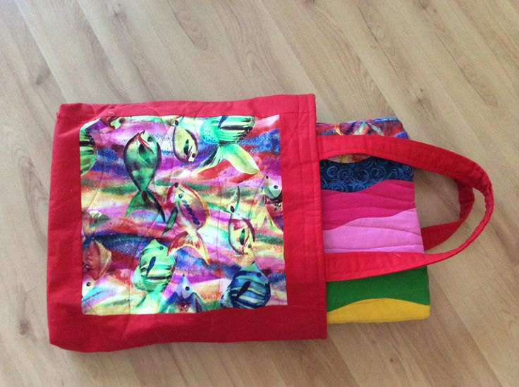 summer #bag with #quilt
