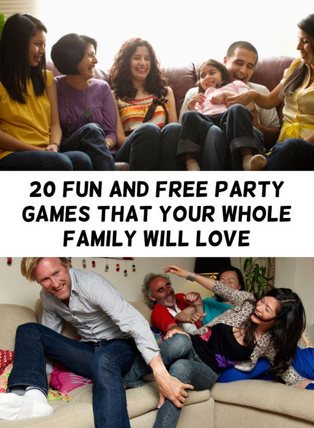 The family that plays together stays together. Here's some entertainment for…