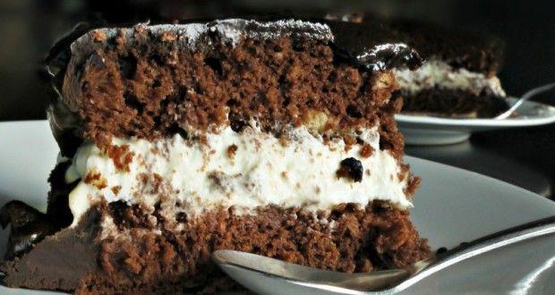 τούρτα σοκολάτα με κρέμα μασκαρπόνε για θεϊκό φινάλε - Pandespani.com