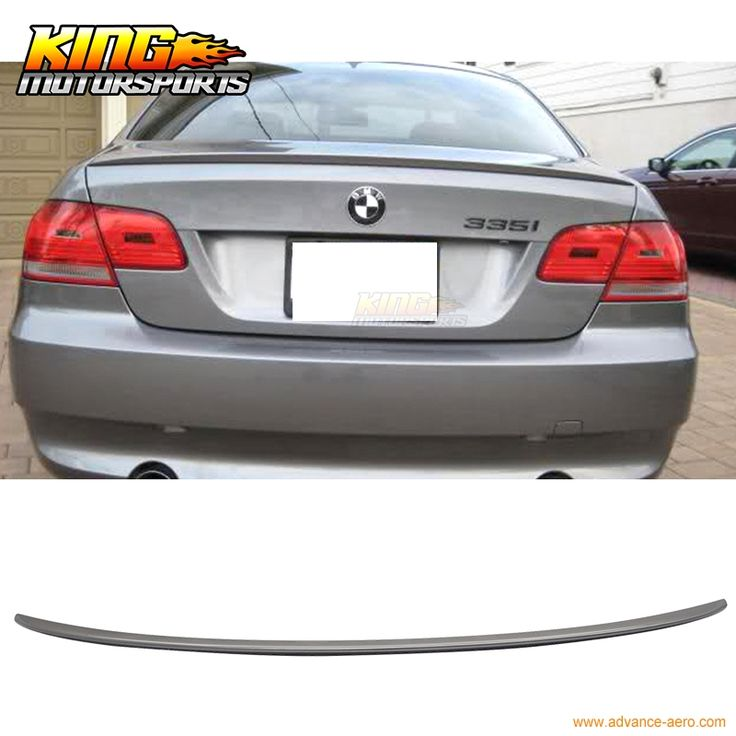 52.24$  Watch here - For 2007-2013 BMW E92 2Dr M3 Style #A22 Sparkling Graphite Painted Trunk Spoiler  #buyonline