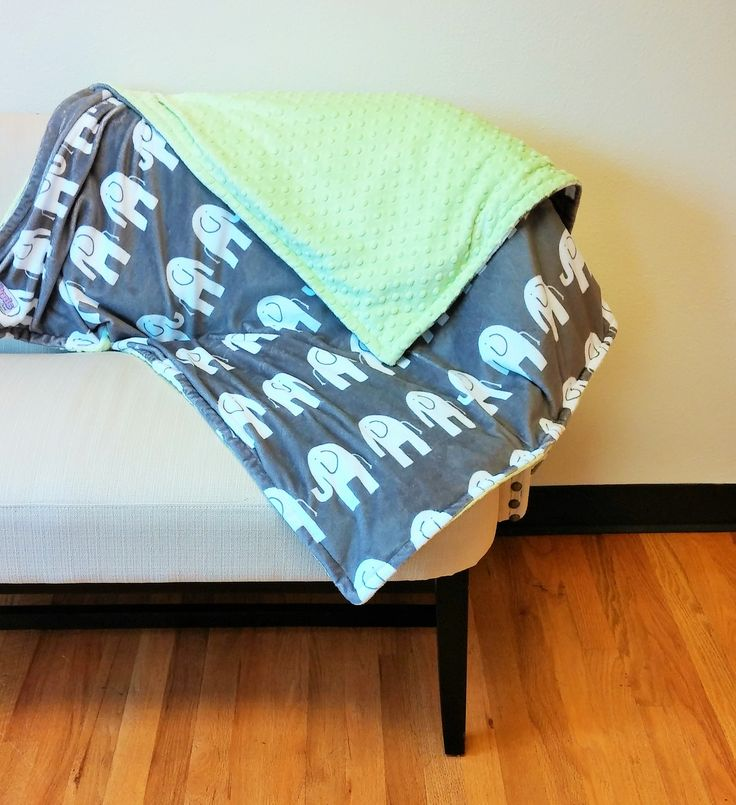 Sensory Weighted Blanket Minky Blanket Build Your
