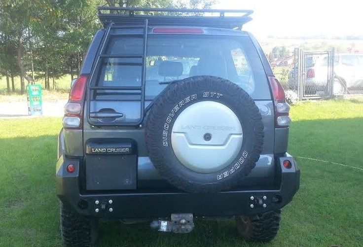 TOYOTA LAND CRUISER 120 REAR STEEL BUMPER OFF - ROAD