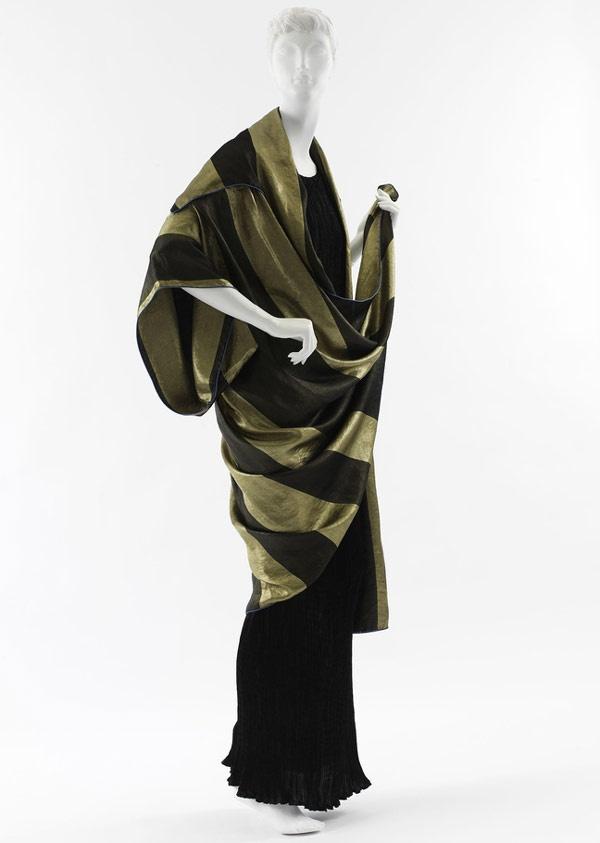 """Paul Poiret """"Pré Catelan"""" Evening Coat Worn by Denise Poiret, 1918"""