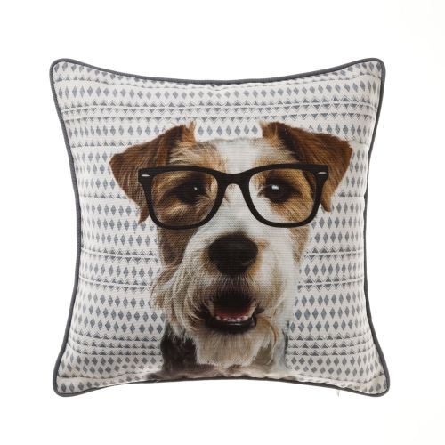Puppy Crazy Animal Cushion