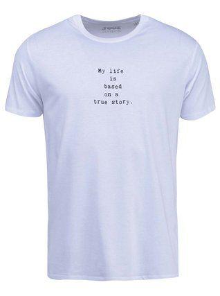ZOOT Originál - Bílé pánské triko  My Life - 1