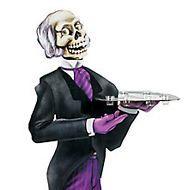 Movie Night Halloween Butler