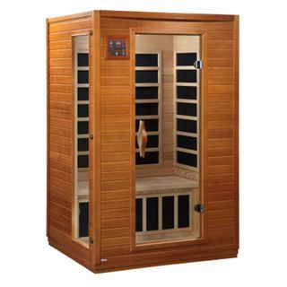 This durable 1-2 person Dynamic Sauna brings healthy living to the privacy of your home. Energy efficiency in bio-ceramic heaters allow beneficial penetrating infrared waves to penetrate your skin to