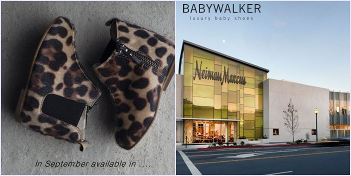 #BABYWALKER Winter 2014/15 collection will be available in #NEIMANMARCUS Department STORES in September...
