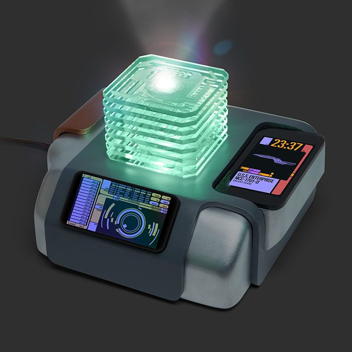 The Star Trek White Noise Sleep Machine provides the low thrum of a familiar spacecraft exploring some corner of an as-yet-unknown galaxy to gently lull you to sleep.