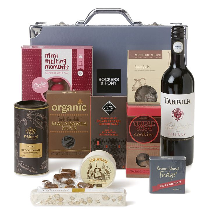 Tahbilk ESP Shiraz + Chocolate | Fathers Day Hamper | Chocolate + Wine Hamper