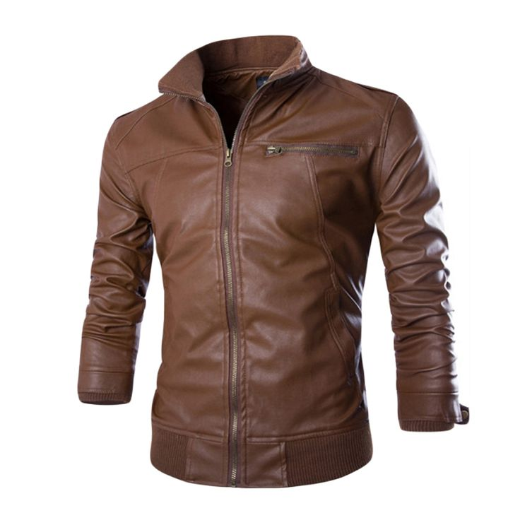Skinny Fit Men's Motorcycle Jacket     Tag a friend who would love this!     FREE Shipping Worldwide     Get it here ---> http://hisandhertrove.com/skinny-fit-mens-motorcycle-jacket/