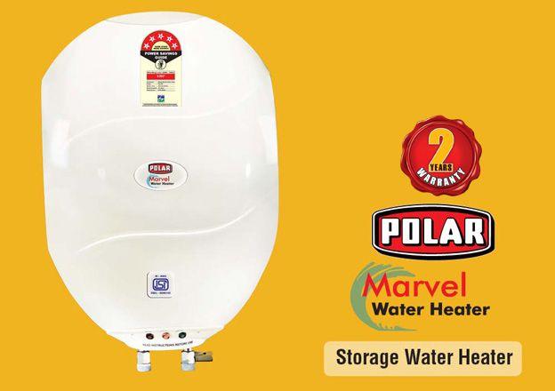 Marvel Water Heater by polar india. Visit: polar-india.com