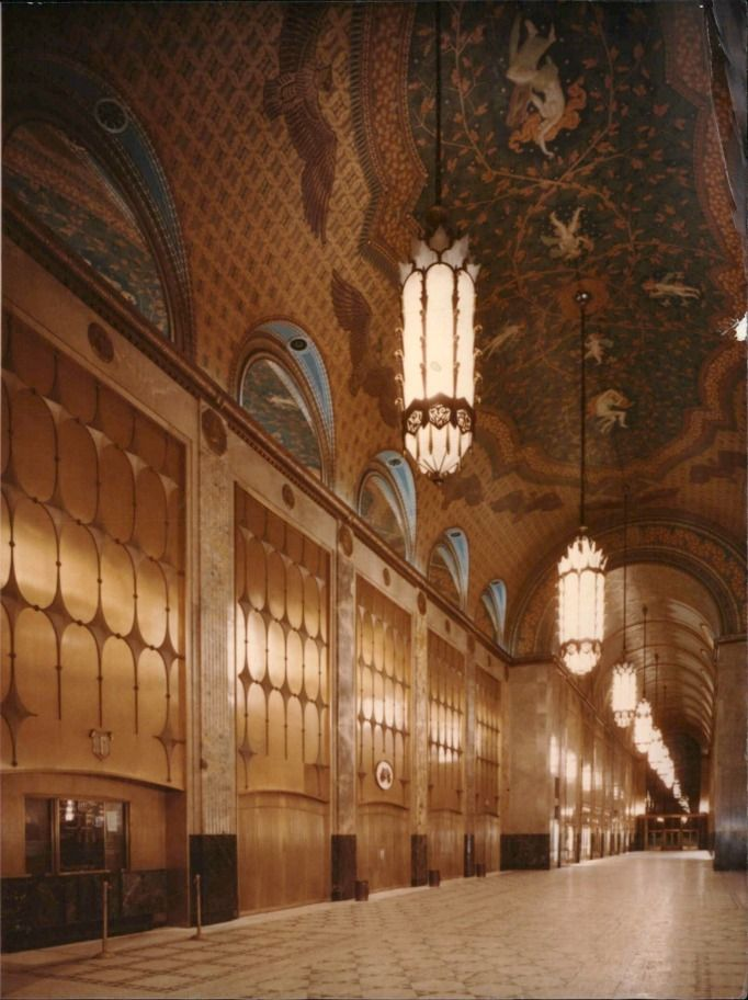 Fisher Building - Old photos — Historic Detroit - 1989