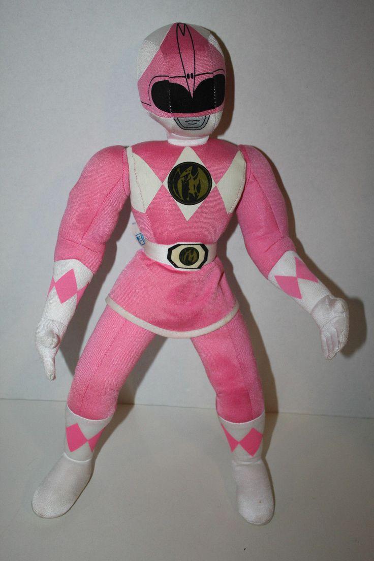 Mighty Morphin Power Rangers Pink Ranger Plush | Super ...