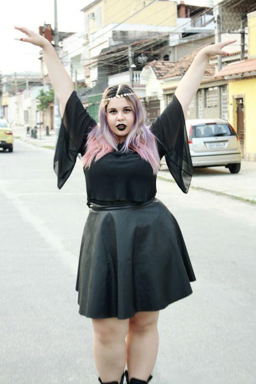 Plus Size Goth Fashion