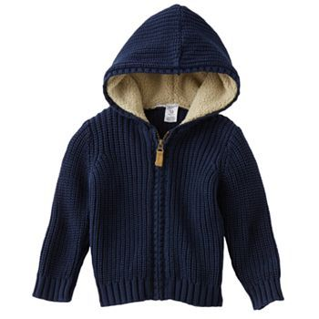 Carter's Knit Hooded Cardigan - Baby