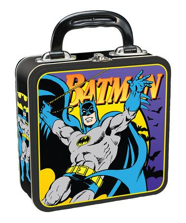 Take a look at this Vandor Batman Square Lunch Box by Vandor on #zulily today!