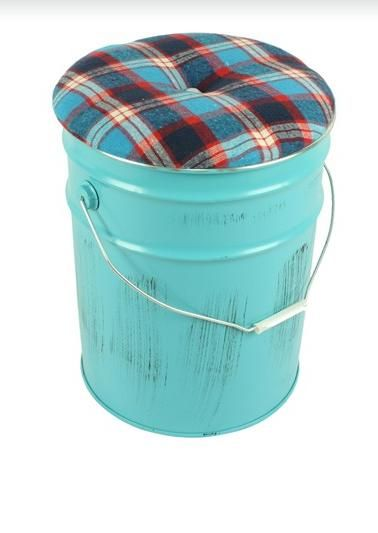 Holey Shamoley Another Cool Stool Idea Tin Bucket