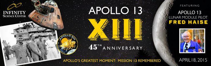 Apollo 13 45th Anniversary event with Astronaut Fred Haise!